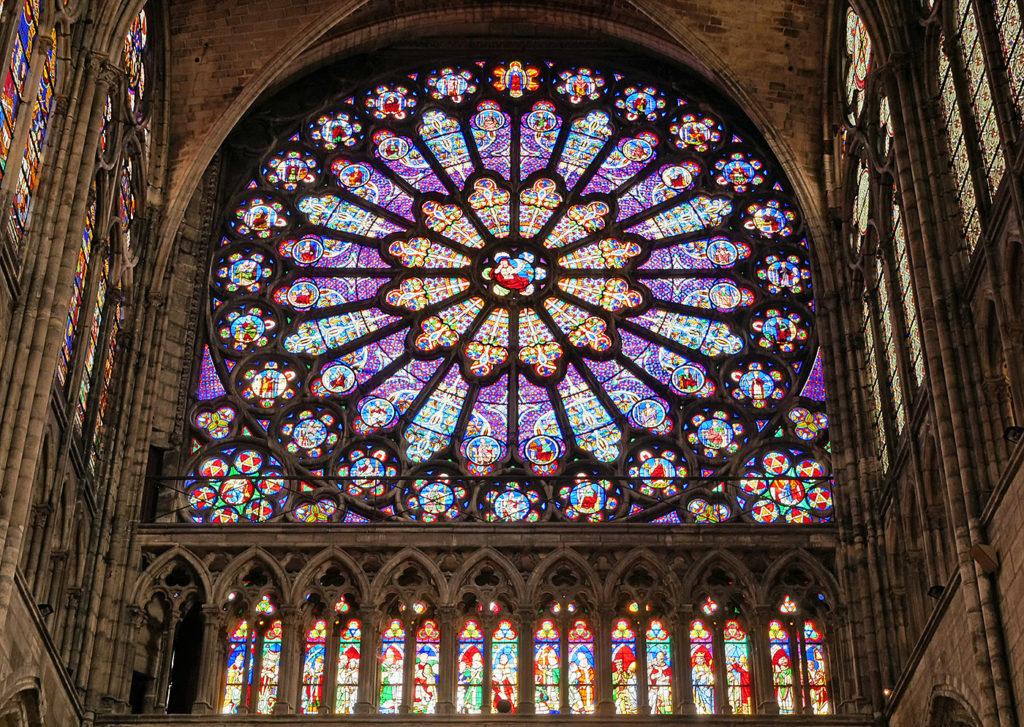 Basilique de Saint-Denis : rose