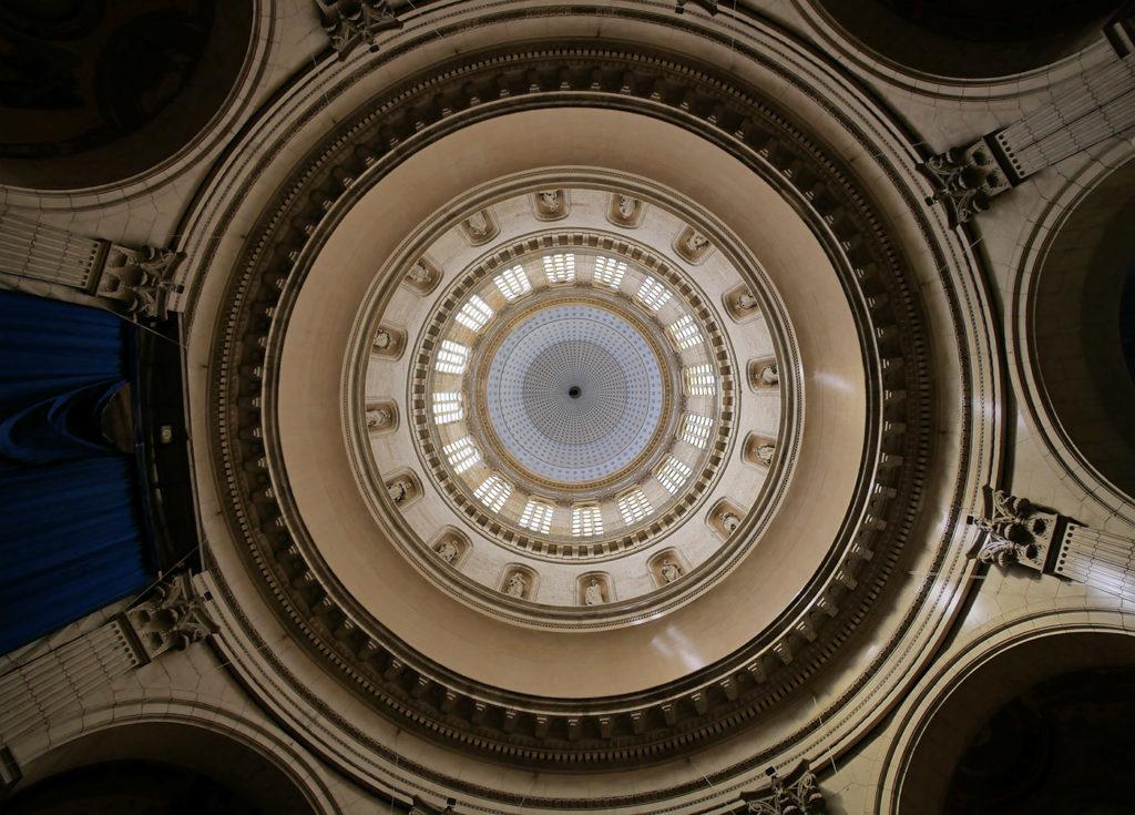 Sous de dôme de la Basilique de Boulogne-sur-Mer