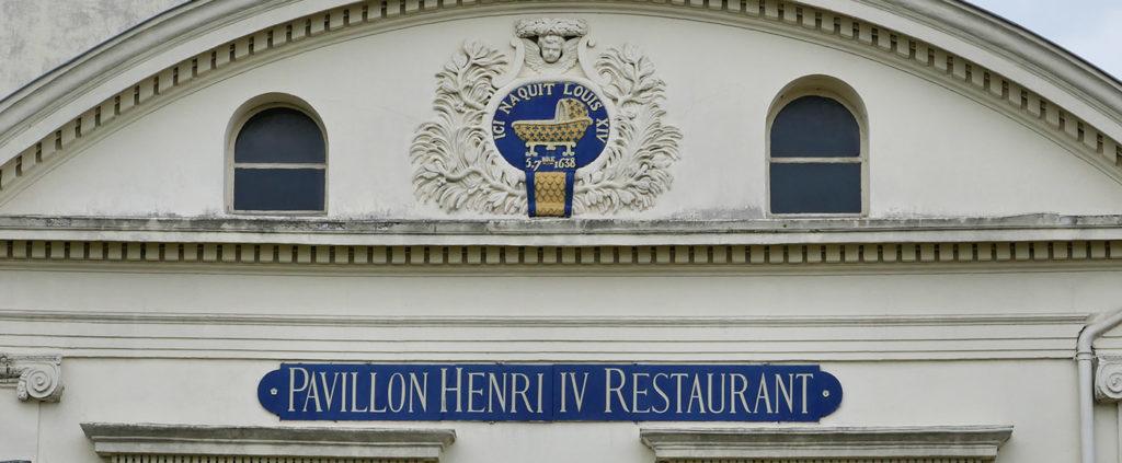 Pavillon Henri IV où naquit Louis XIV