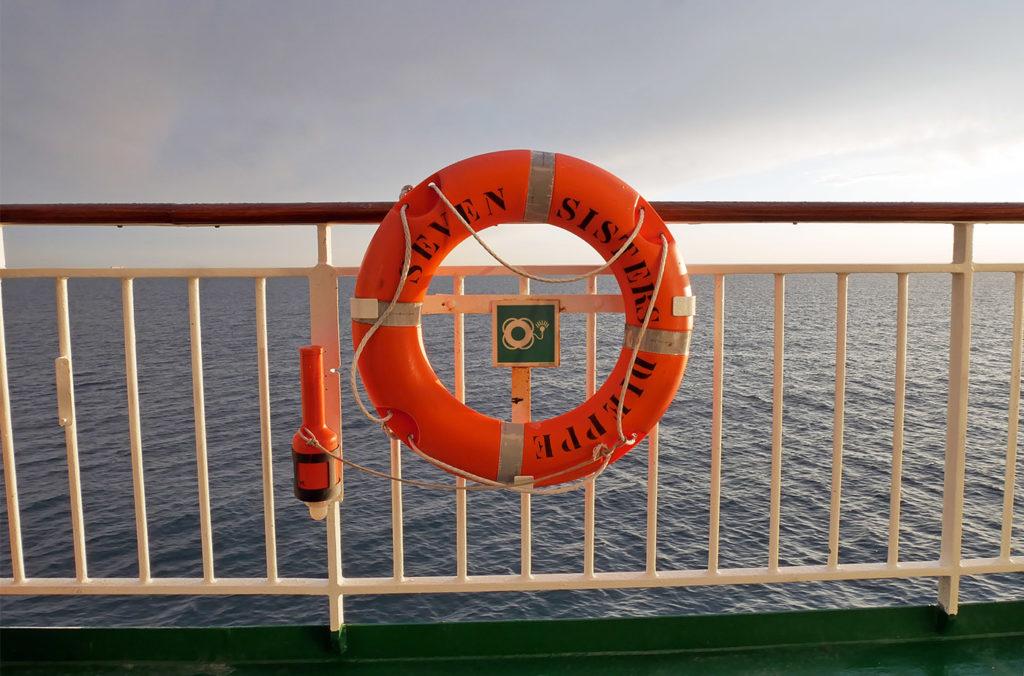 Traversée de la Manche en ferry