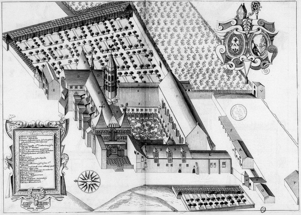 L'abbaye de la Sauve Majeure au XVIIe siècle