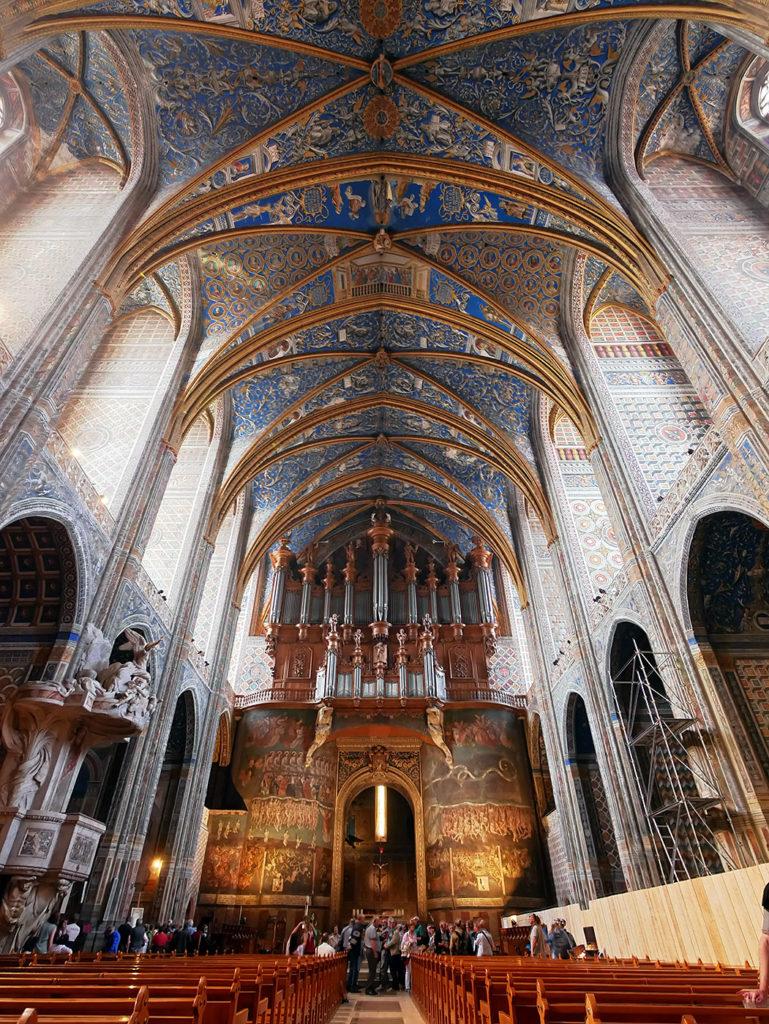 Intérieur de la cathédrale d'Albi