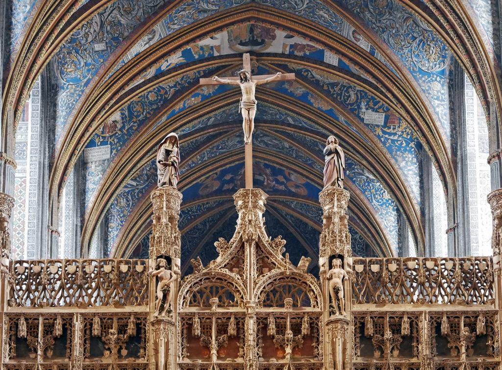 Cathédrale d'Albi dans le Tarn