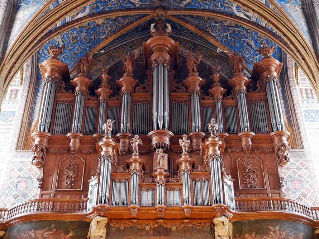 Orgue de la cathédrale d'Albi