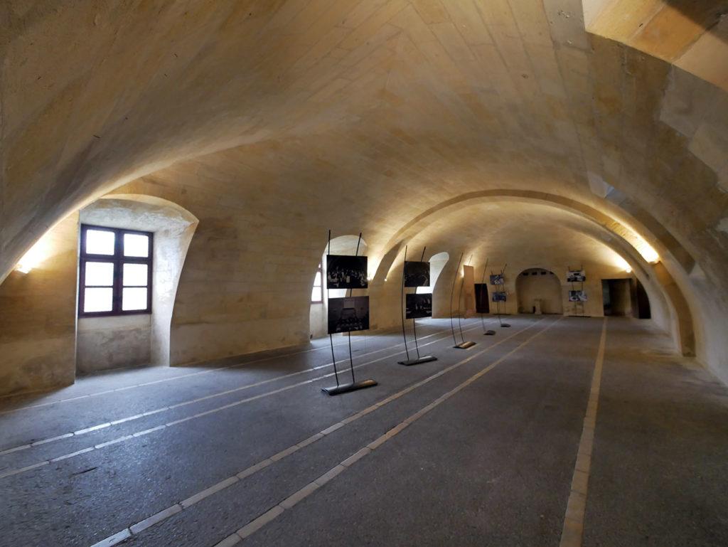 Sous-sol du château de Cadillac