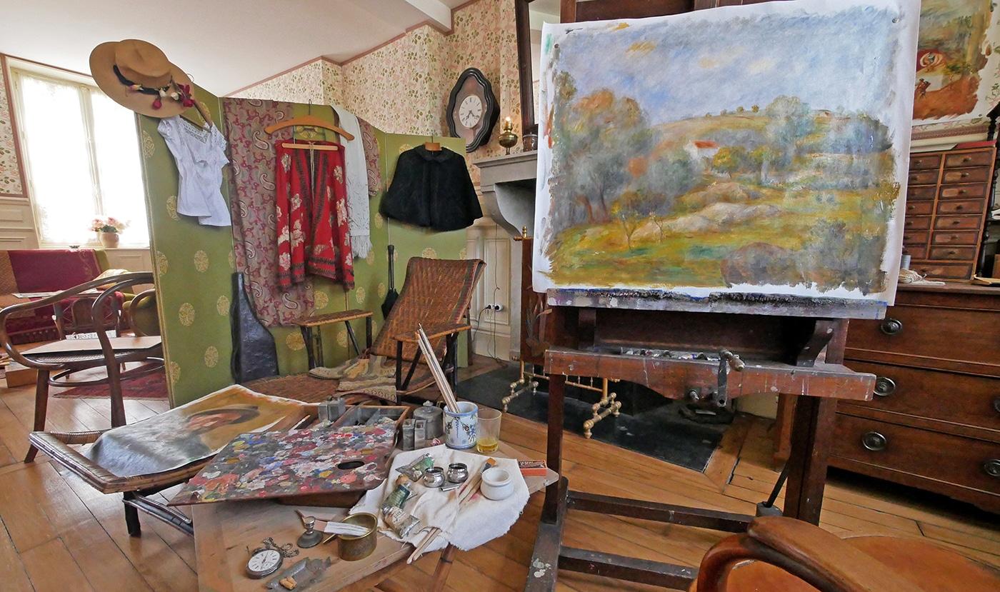 Maison des Renoir à Essoyes