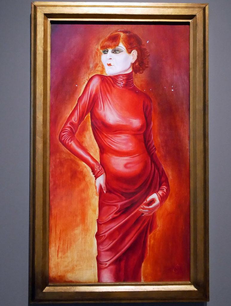 Otto Dix, Bildnis der Tanzerin, Anita Berber, 1925