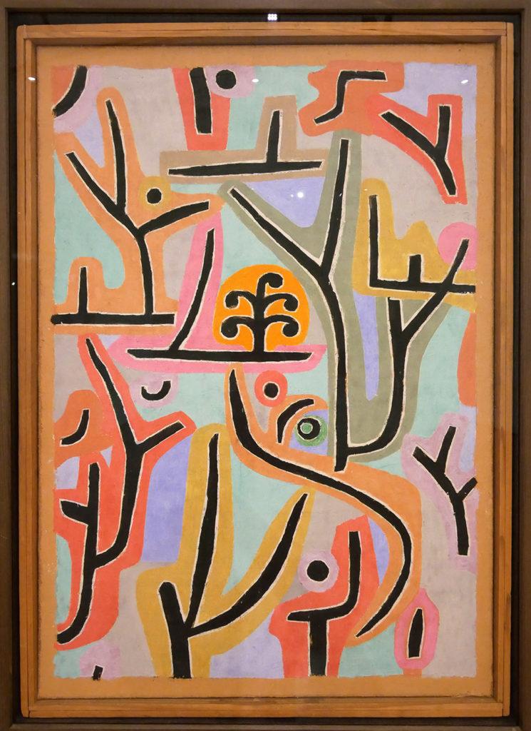 Paul Klee, Parc près de Lu, 1938