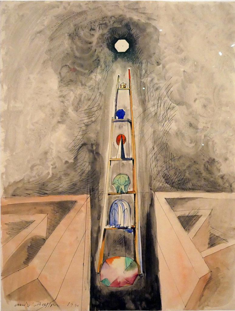 André Masson, L'échelle des êtres, 1940
