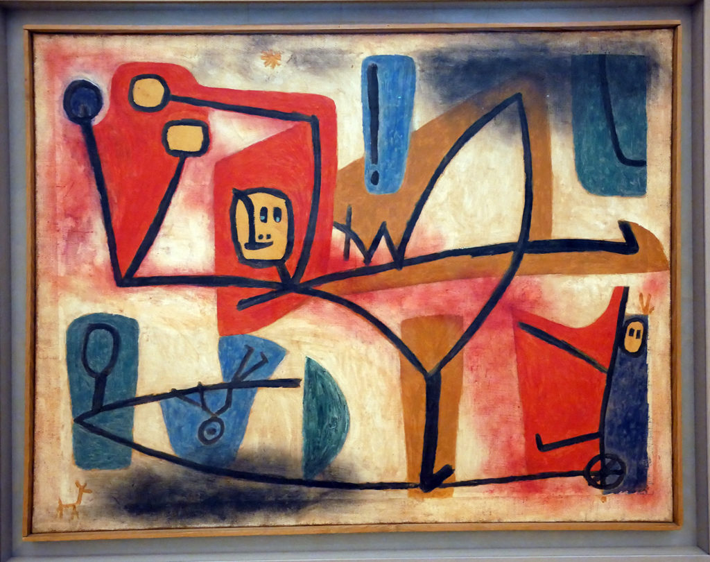 Paul Klee, Exubérance, 1939
