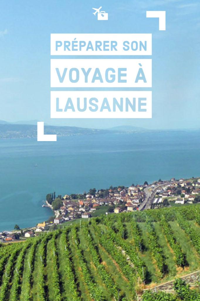Préparer son voyage à Lausanne