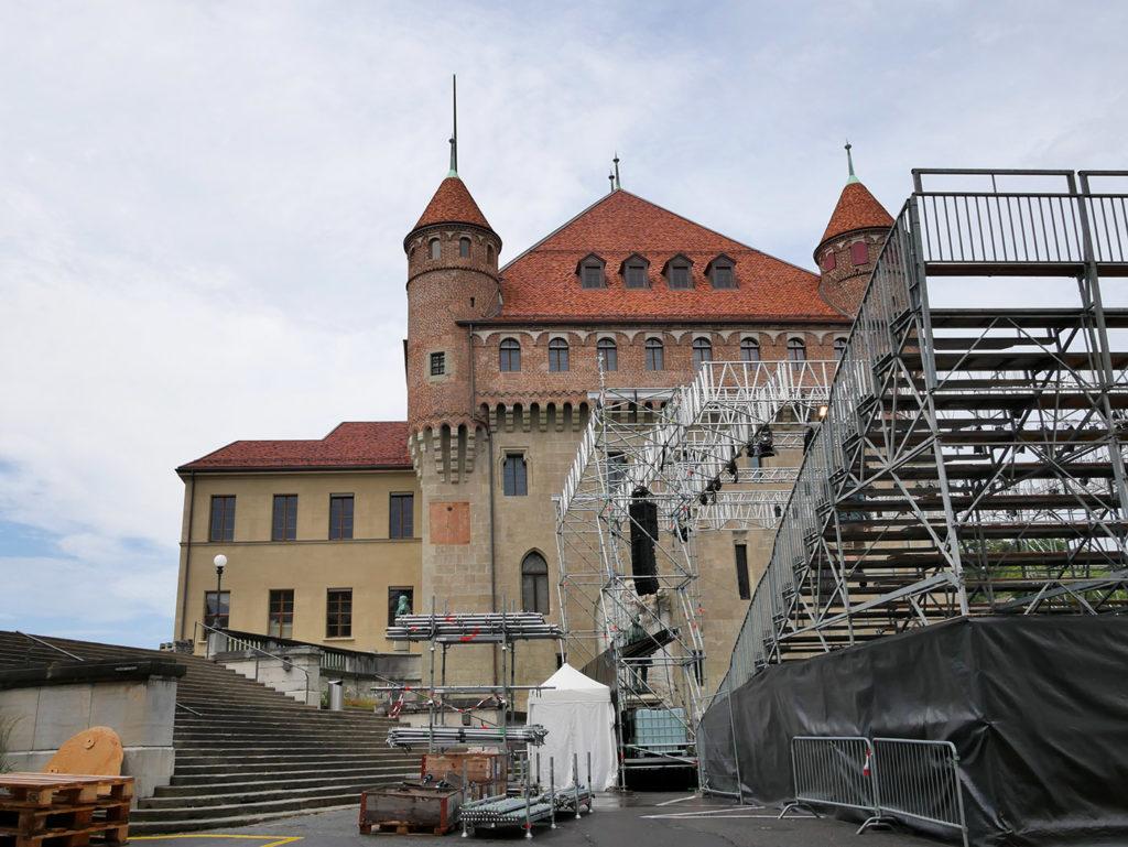 La Cité, quartier médiéval de Lausanne