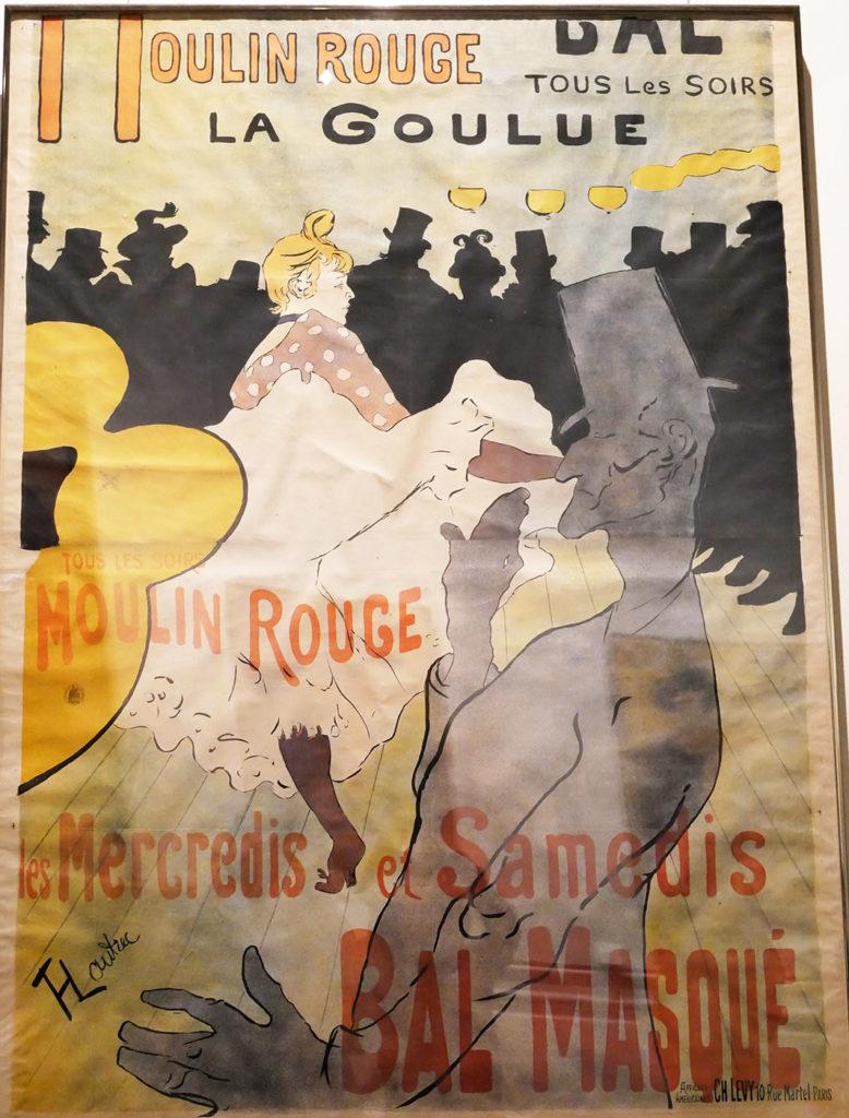 Henri de Toulouse-Lautrec, Moulin Rouge (La Goulue), 1891