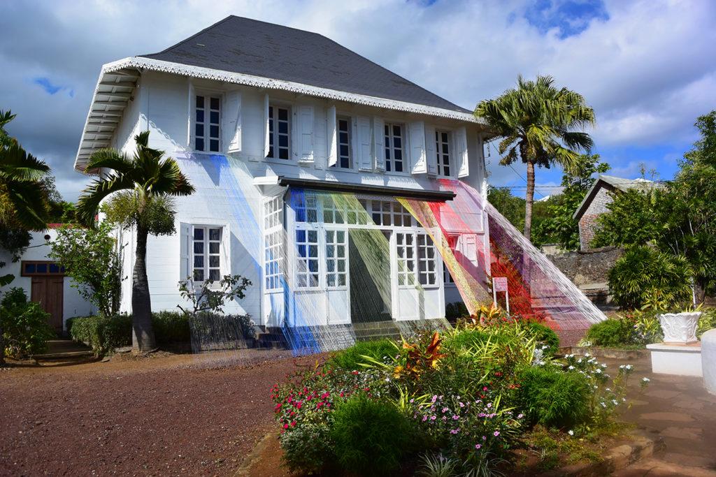 Vue du Frac Réunion