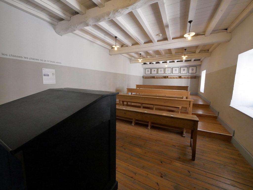 Salle de classe à l'Abbaye-école de Sorèze