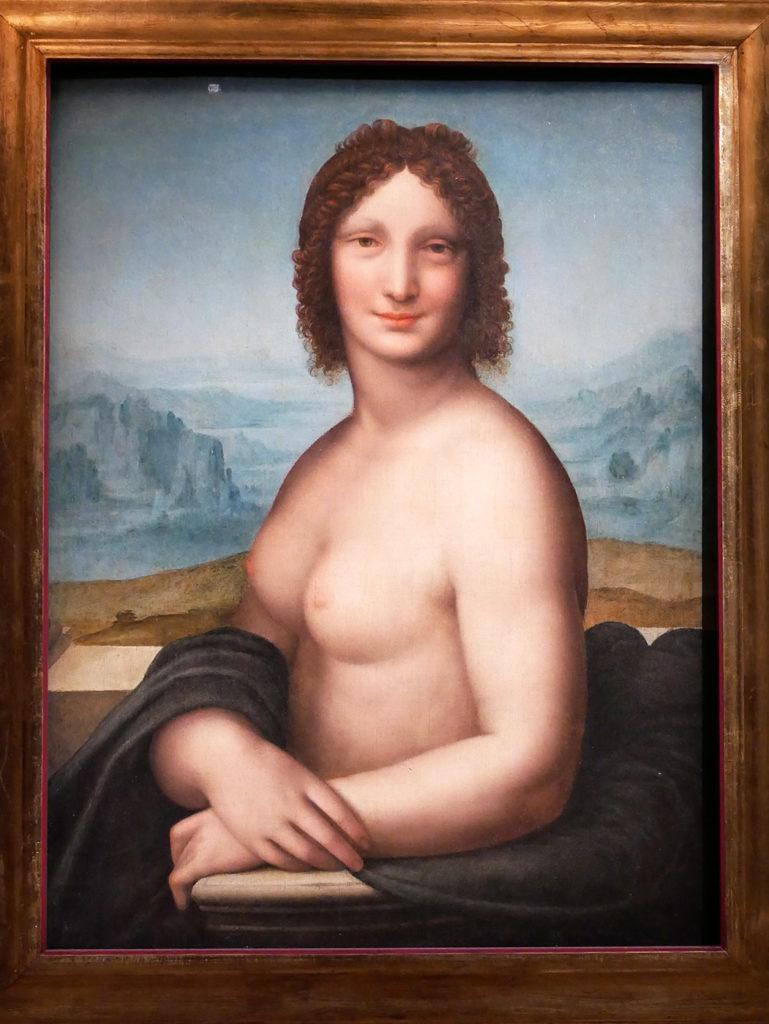 Atelier de Léonard de Vinci, Vénus dite La Joconde nue