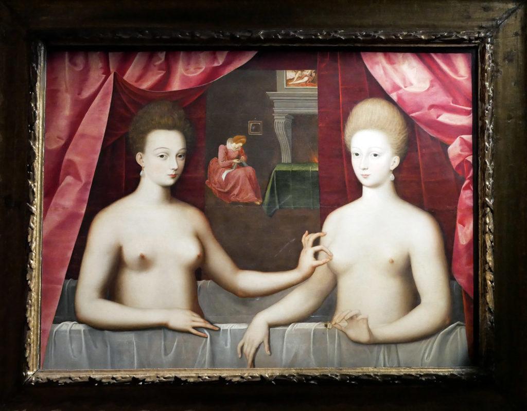 Femmes au bain, dites aussi Gabrielle d'Estrées et sa soeur