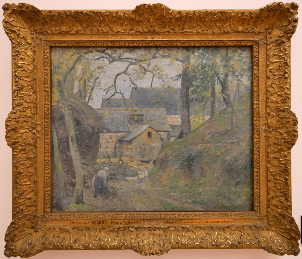 Camille Pissarro, Ferme à Montfoucault