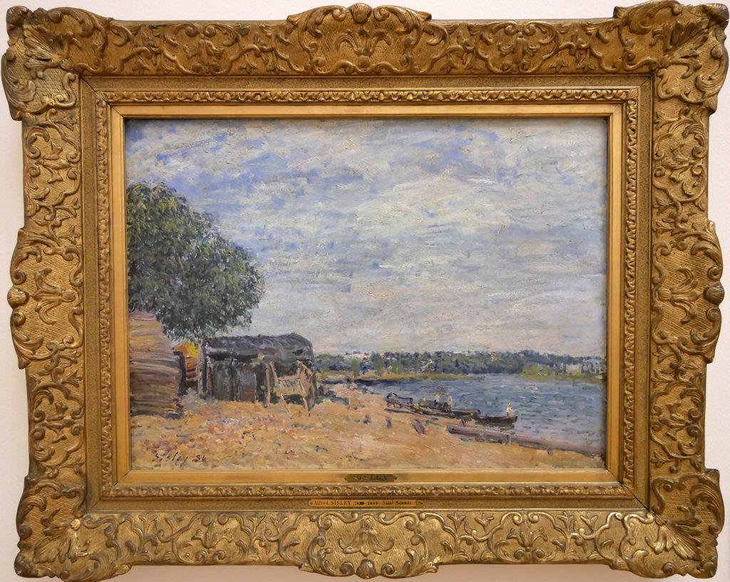 Alfred Sisley, Saint-Mammès, Paysage