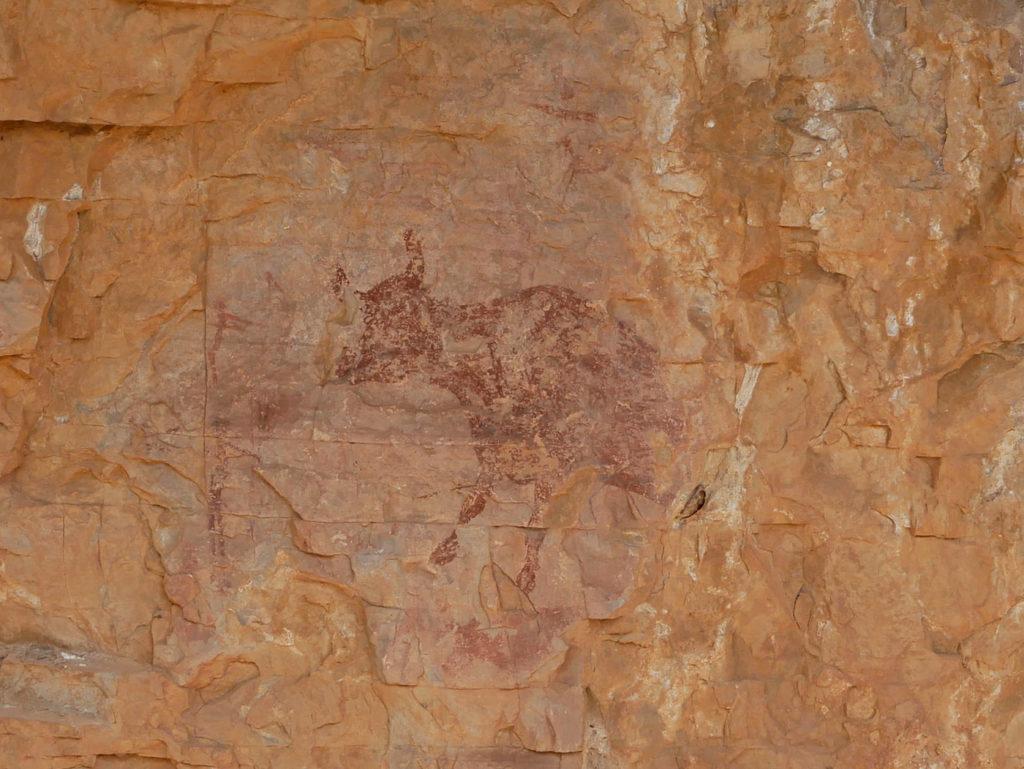 Peintures rupestres à Montblanc