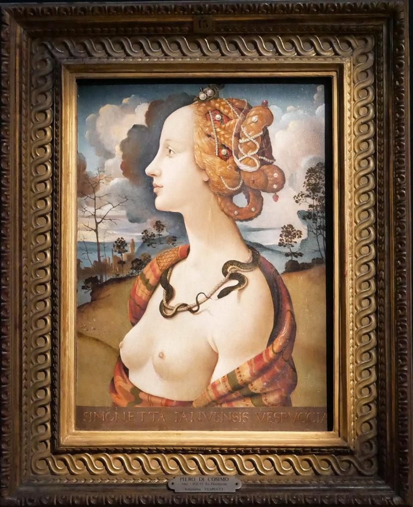 Piero Di Cosimo - Portrait de Simonetta Vespucci