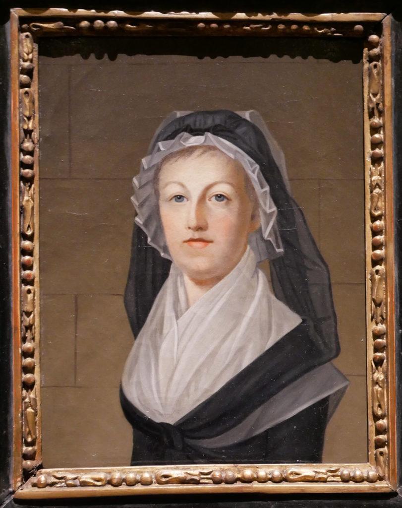 Alexandre Kucharski, portrait de Marie-Antoinette emprisonnée au Temple