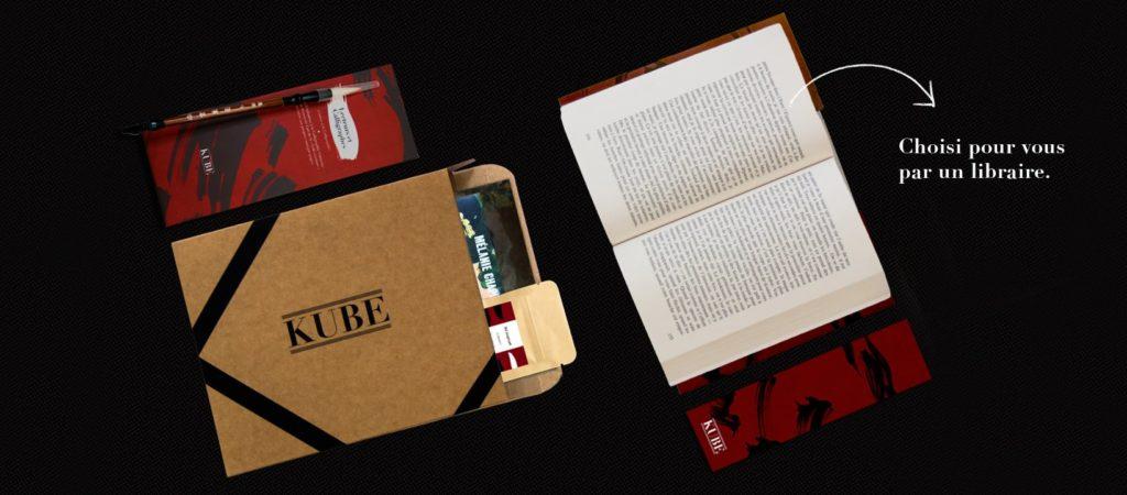 Kube, la box cadeau littéraire
