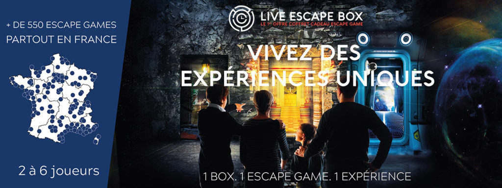 Offrir un escape game