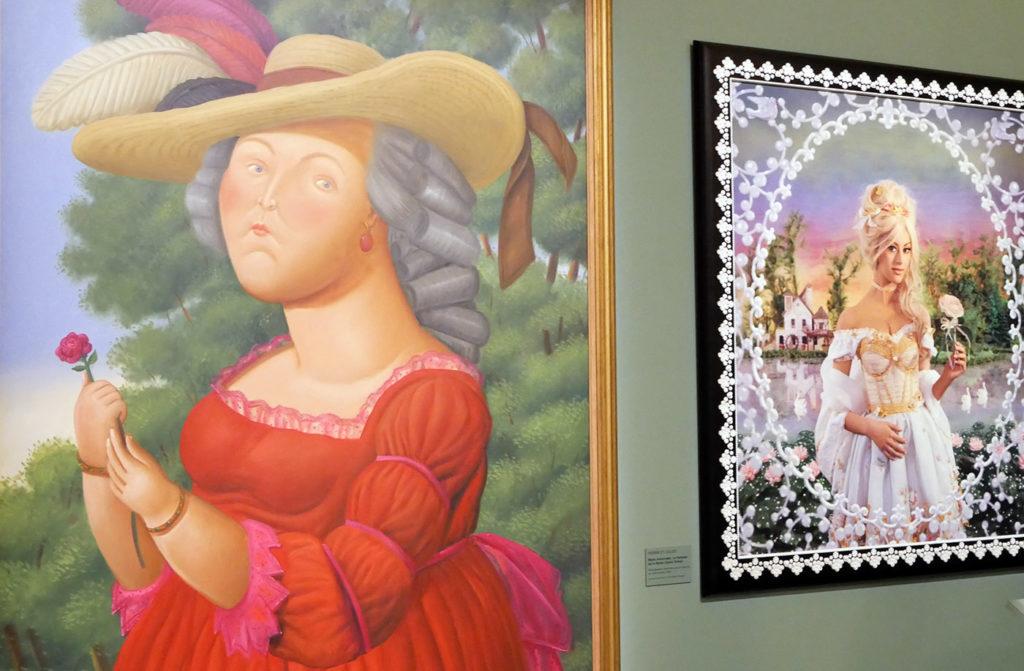 Marie-Antoinette vue par Fernando Botero et Pierre et Gilles