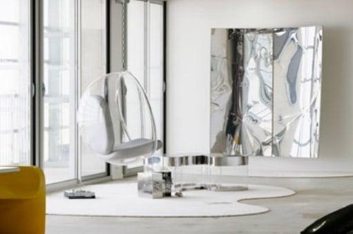 Vue de l'exposition Space is a House présentée au Frac Grand Large – Hauts-de-France dans le cadre de GIGANTISME — ART & INDUSTRIE, 2019 © Photo: Aurélien Mole
