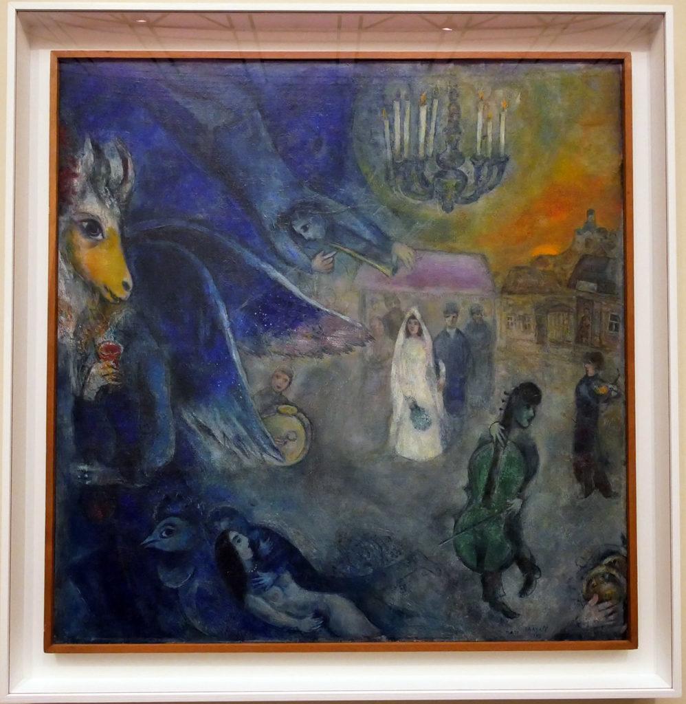 Marc Chagall, Les lumières du mariage, 1945
