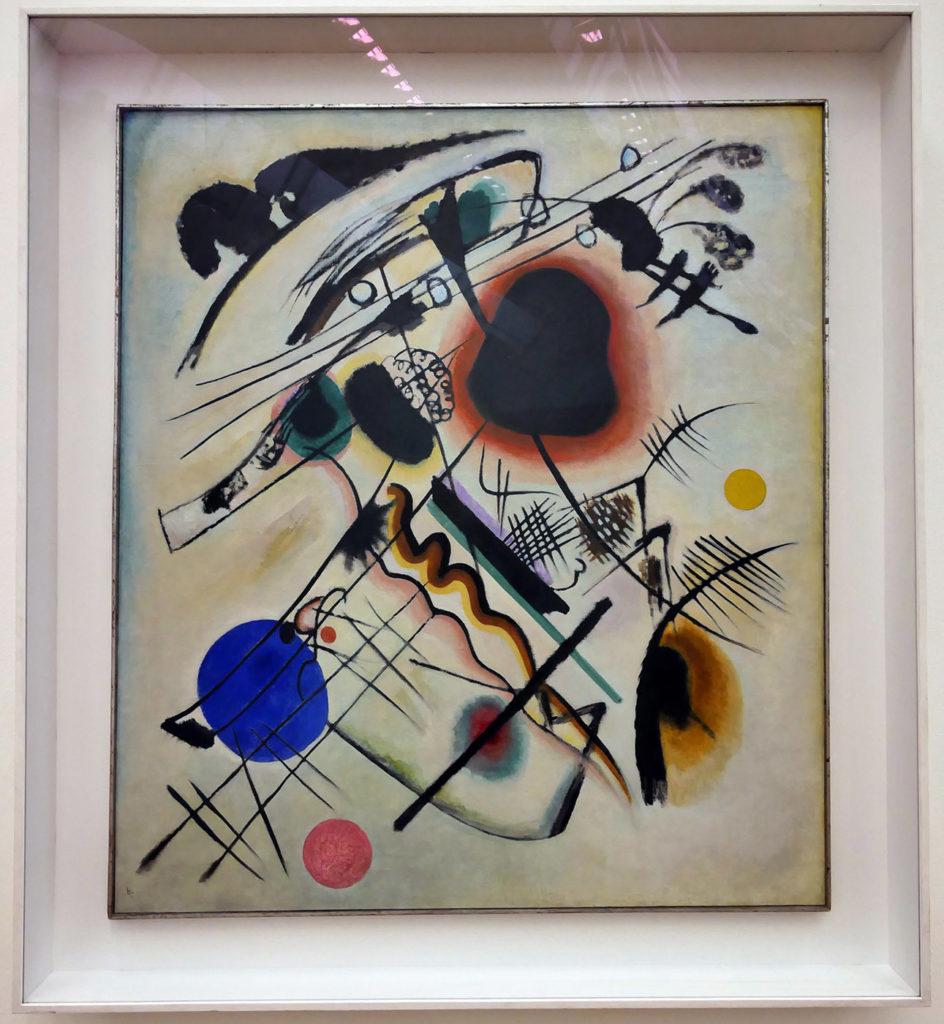 Wassily Kandinsky, Black spot, 1921