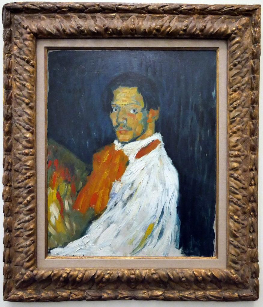 Pablo Picasso, autoportrait, 1901