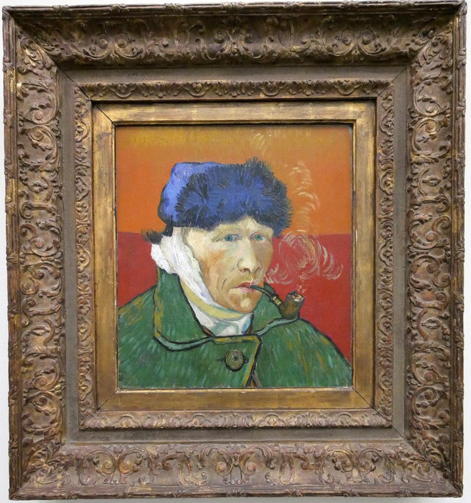 Vincent Van Gogh, Autoportrait à l'oreille bandée, 1889