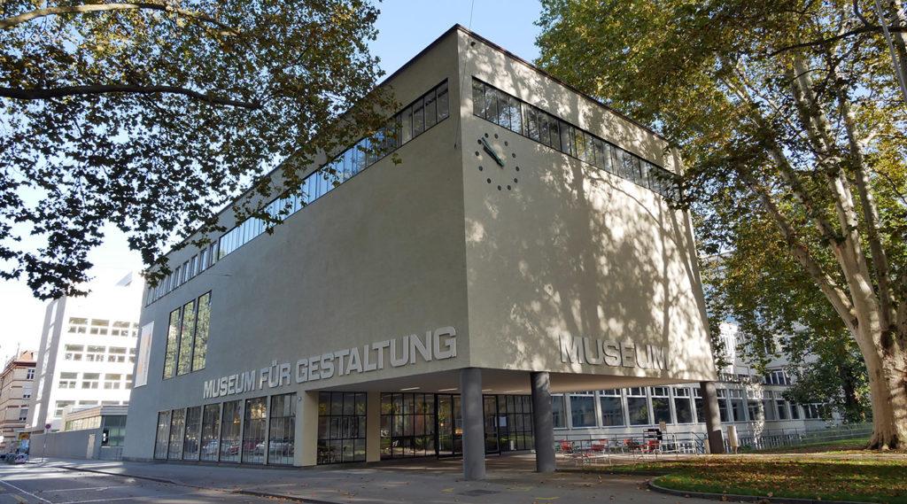 Museum fur Gestaltung de Zurich