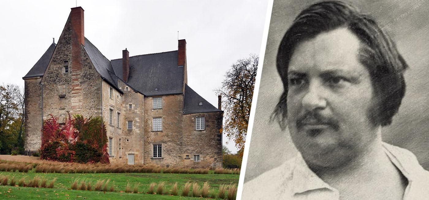 Le château de Saché et le musée Balzac