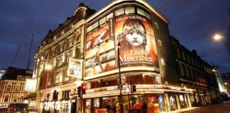 Comédie musicale à Londres