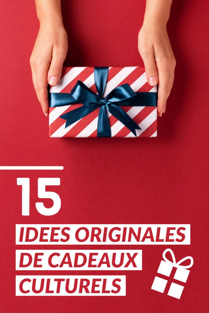 Idées originales de cadeaux culturels