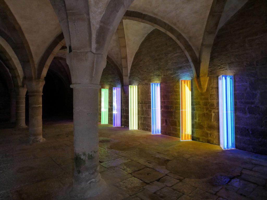 Liz West à l'abbaye de Beaulieu-en-Rouergue
