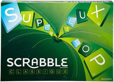 Scrabble jeu de société indémodable