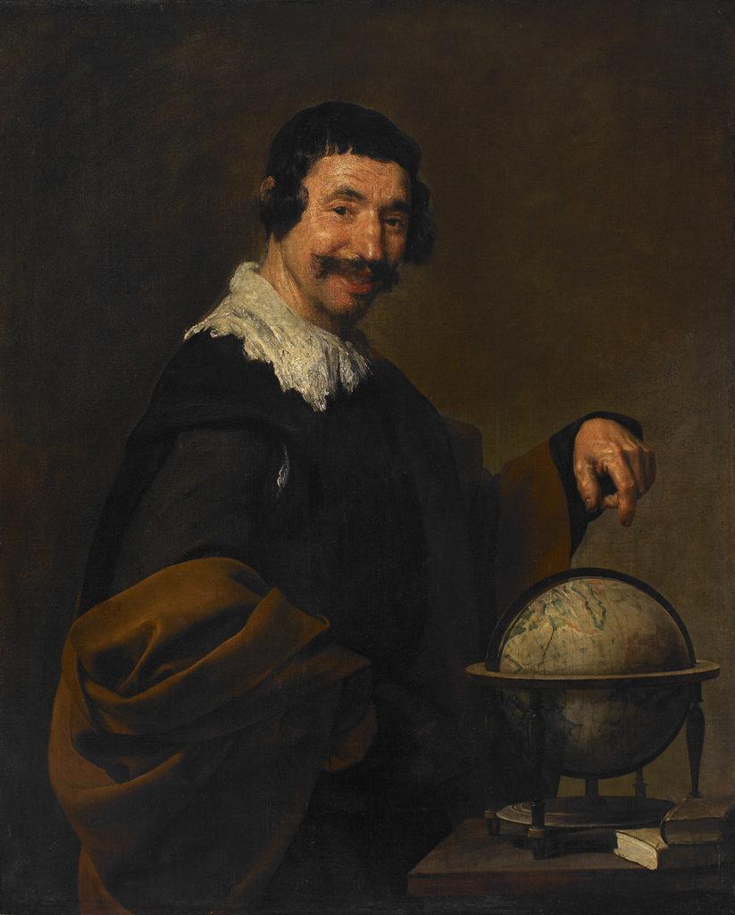 Diego Velazquez (1599-1660), Démocrite vers 1630-1640, huile sur toile, 101 x 81cm