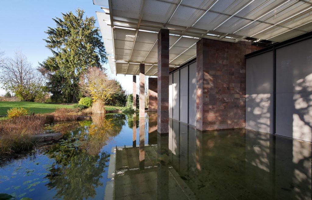 The Fondation Beyeler in Basel, Switzerland