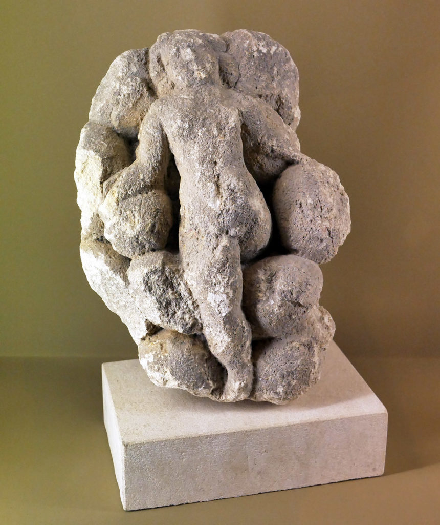 La naissance de Mithra sortant du rocher, musée de l'hospice Saint-Roch