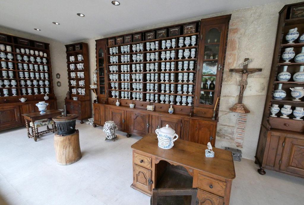 Apothicairerie, musée de l'hospice Saint-Roch