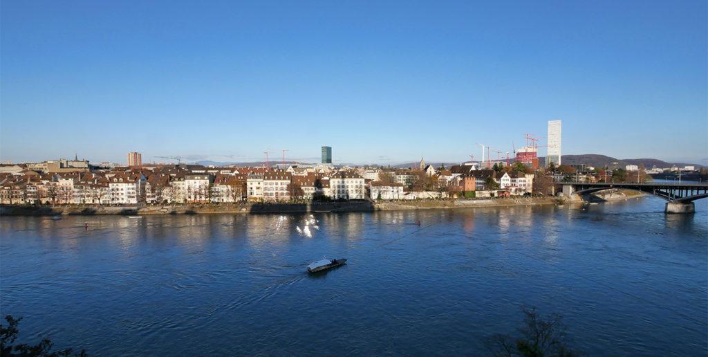 Vue sur Bâle depuis la Pfalz