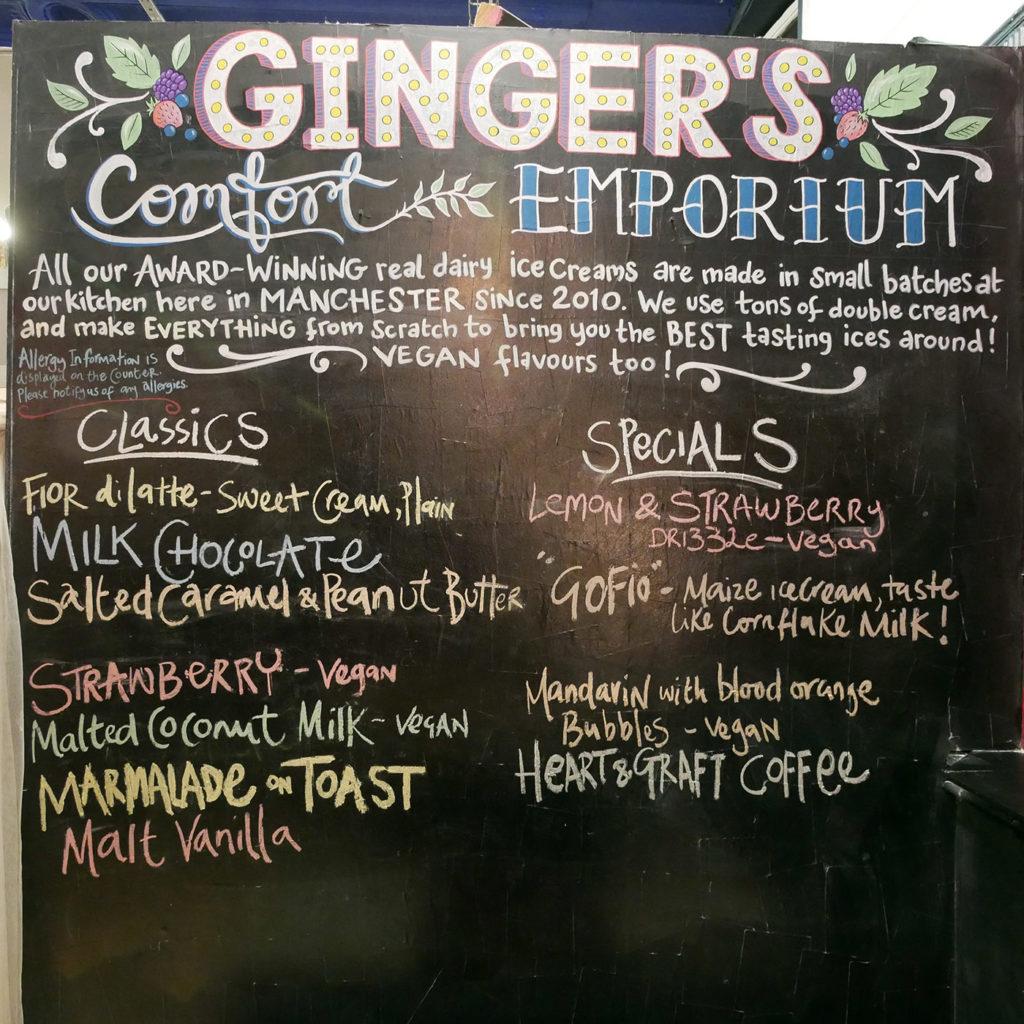 Ginger's Comfort Emporium Manchester