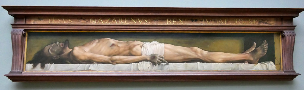 Hans Holbein, Le Christ mort au tombeau, 1662