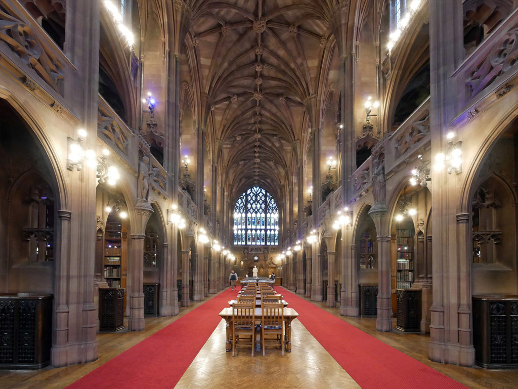 La fabuleuse John Rylands Library de Manchester