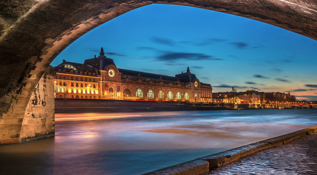 Museums open at night in Paris