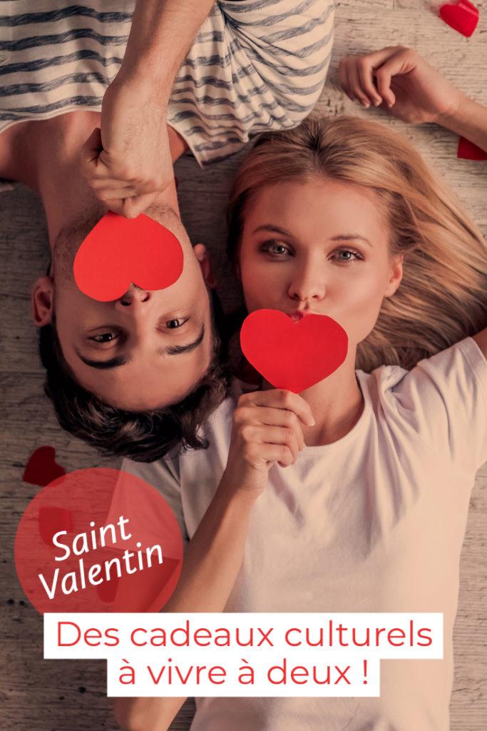 Cadeaux culturels à partager à deux pour la Saint Valentin